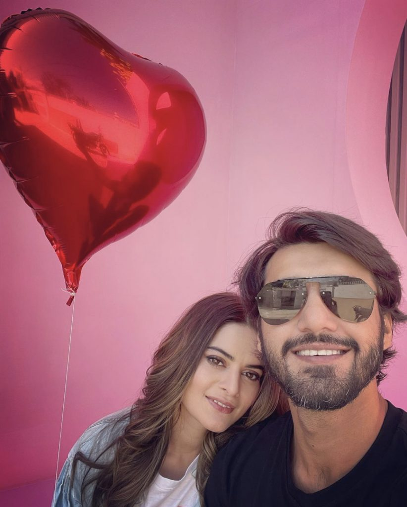 Minal Khan Made Her Relationship Official With Ahsan Mohsin