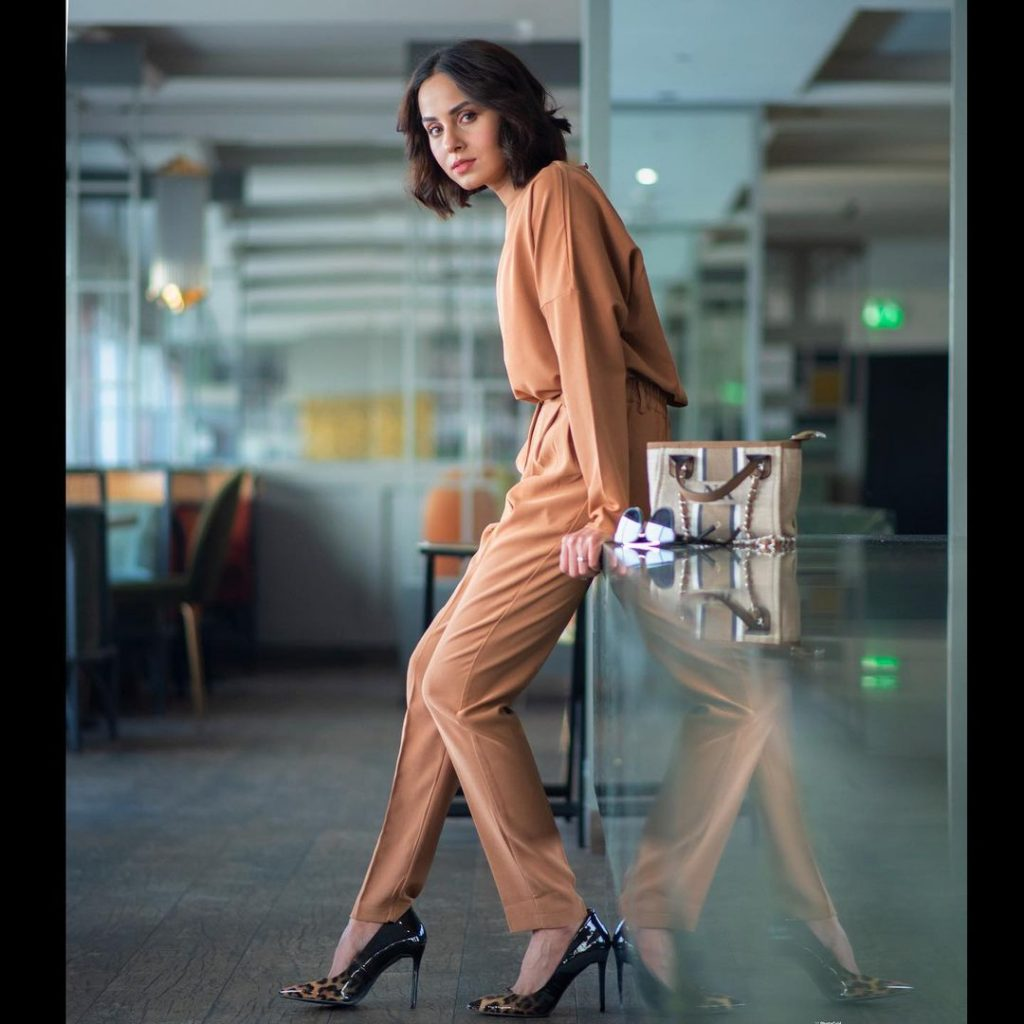 Latest Shoot Of Nimra Khan For Mega Shopping Express