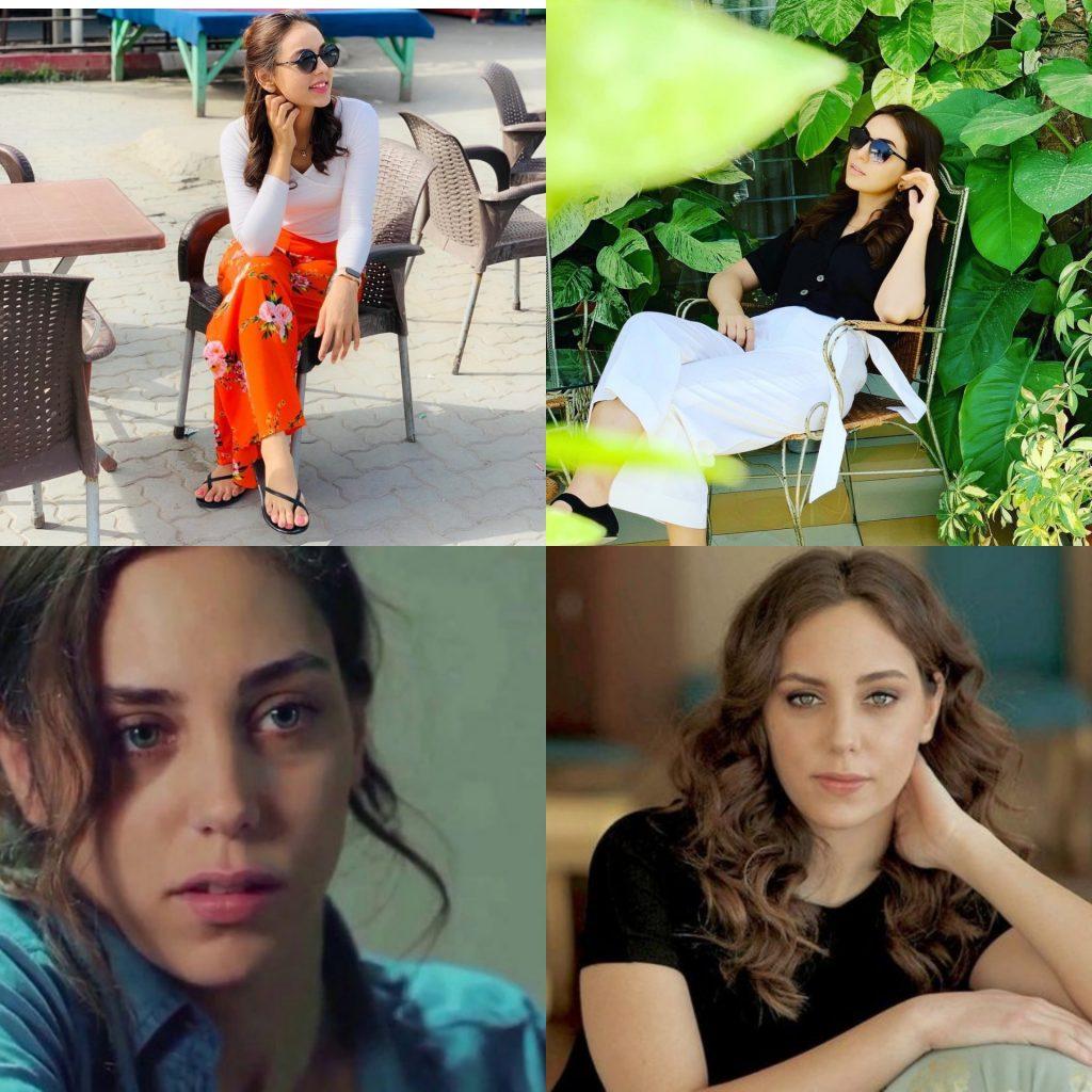Maryam Noor Resembles With Turkish Actress Oyku Karayel