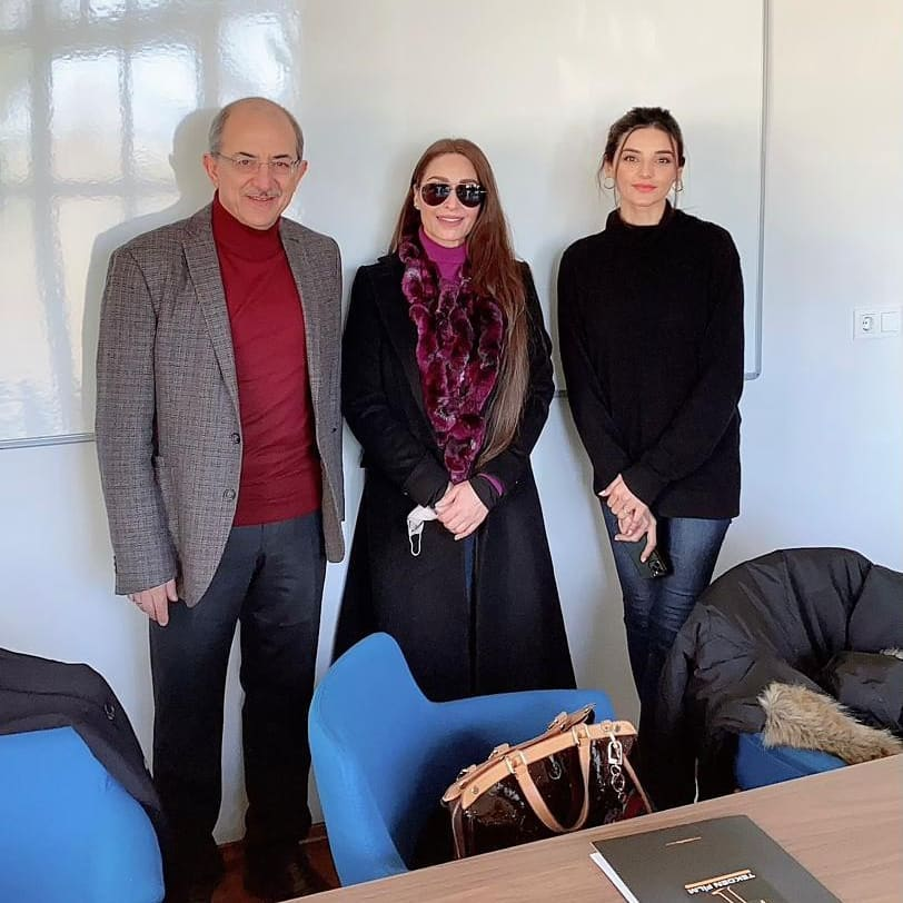 Pakistani Actors In Turkey For A Meeting With The Producers Of Diliris Ertuğrul