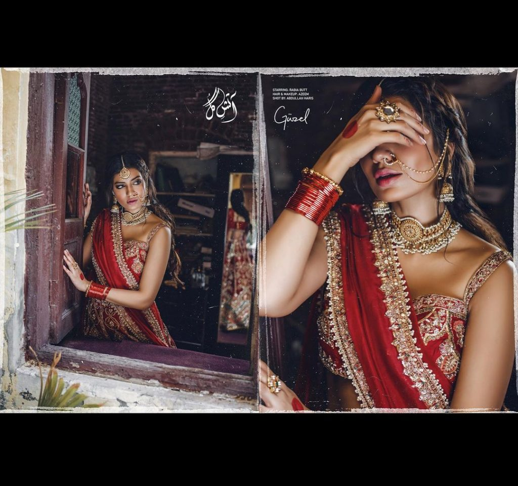 Rabia Butt Looks Super Gorgeous In Unseen Bridal Attires