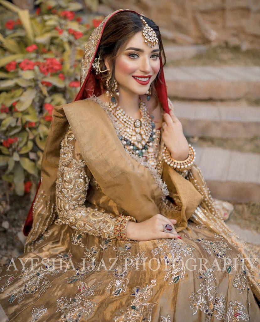 Latest Bridal Pictures Of Beautiful Ramsha Khan