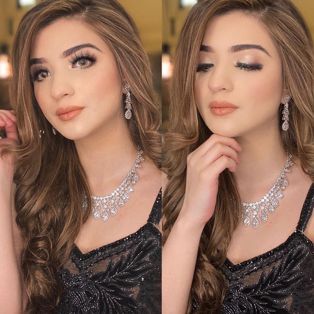 Latest Clicks of Makeup Artist Rea Rana Daughter of Moammar Rana