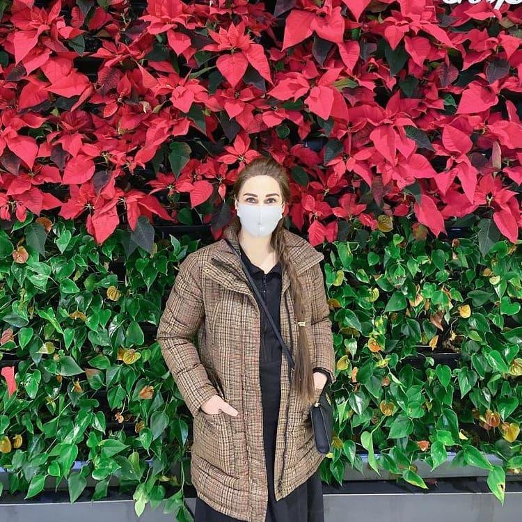 Reema Khan Enjoying Winters In USA