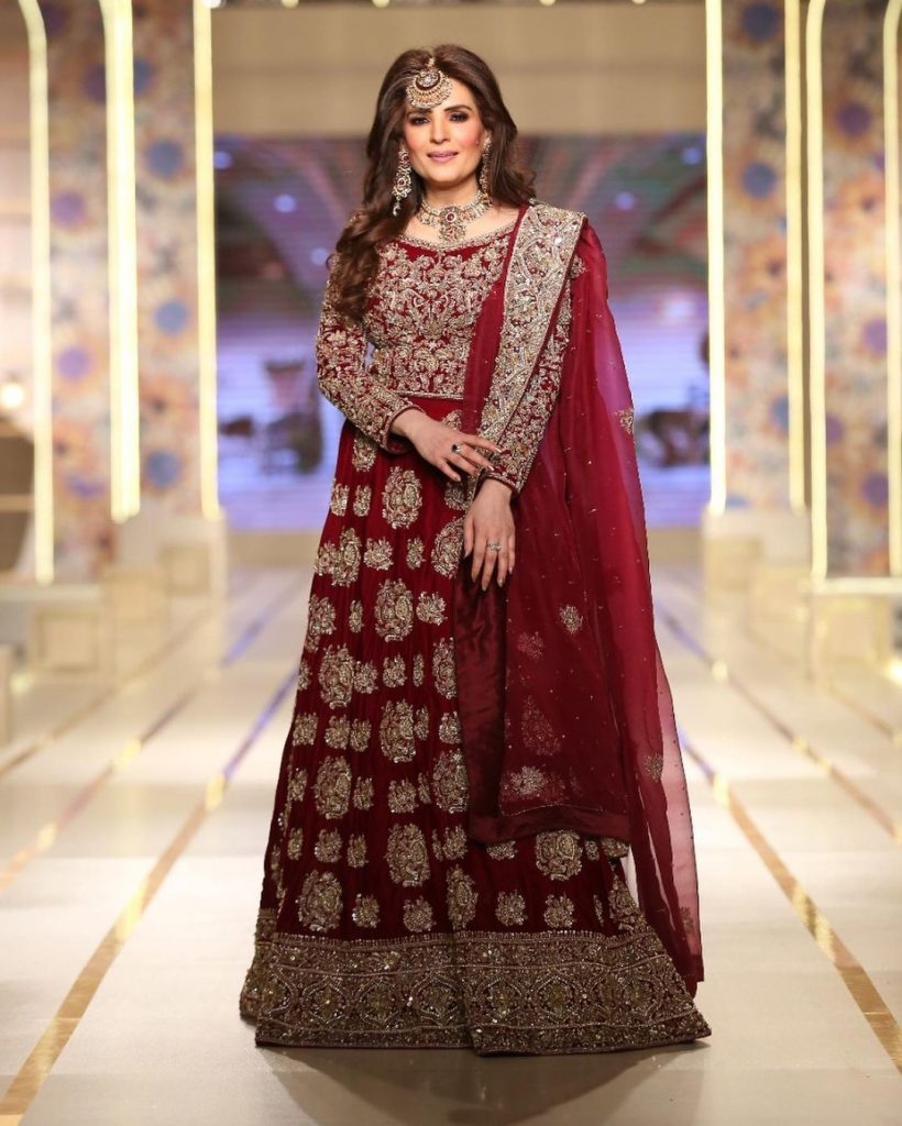 Resham Appeared On Ramp For Nisa Hussain At BCW Day 3