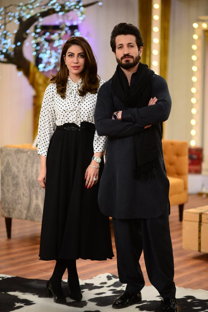 Latest Pictures Of Saba Faisal With Her Kids From Good Morning Pakistan
