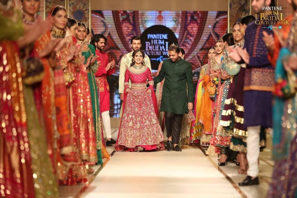 Saboor Aly Walked The Show For Haris Shakeel At BCW