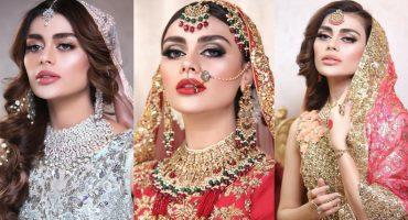 Sadaf Kanwal Pulling Off Traditional Bridal Looks Like A Pro