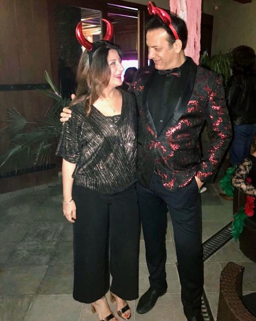 Latest Pictures Of Actor Saleem Sheikh With His Family