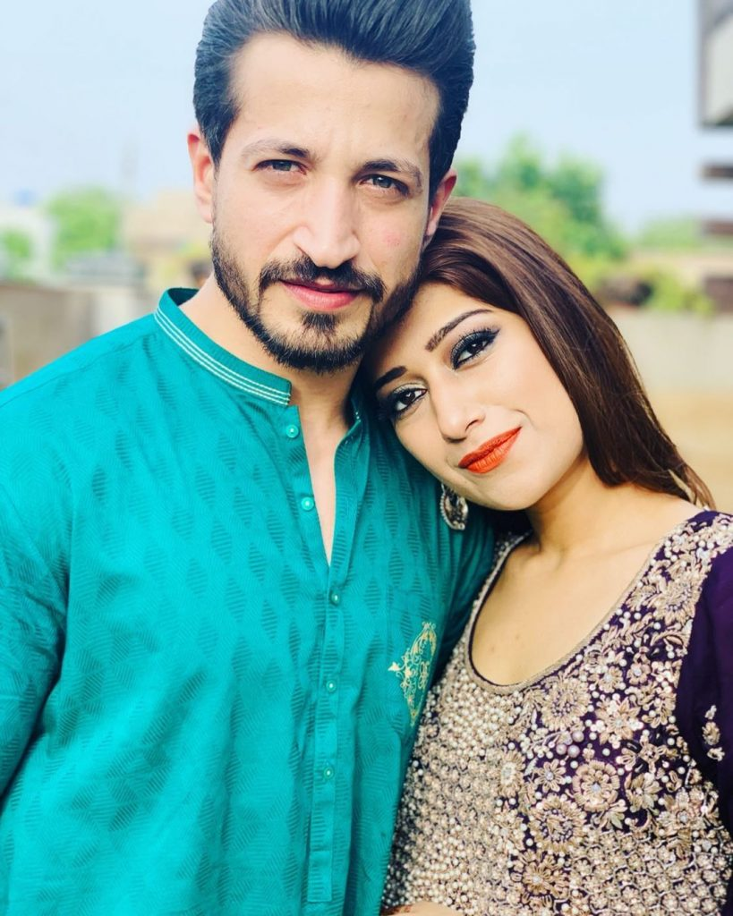 Salman Faisal's Beautiful Pictures With Wife