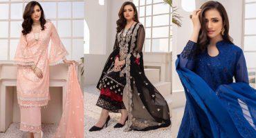 Sana Javed Looks Vibrant In Ensembles By Azure