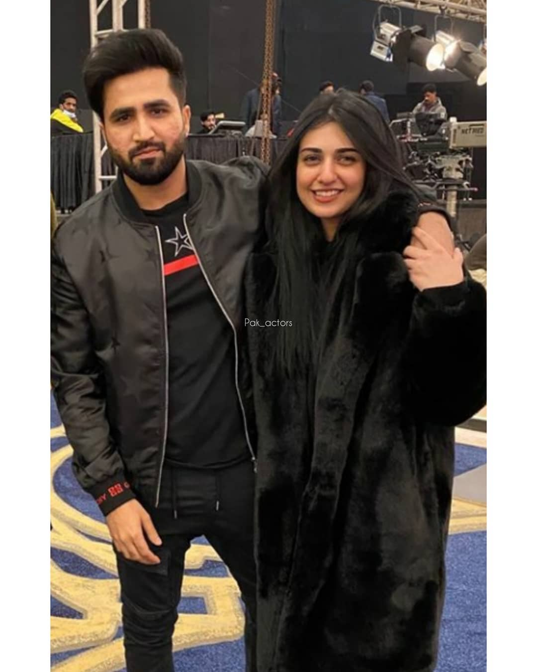Beautiful Pictures of Sarah Khan and Falak Shabbir in Lahore for BCW2021