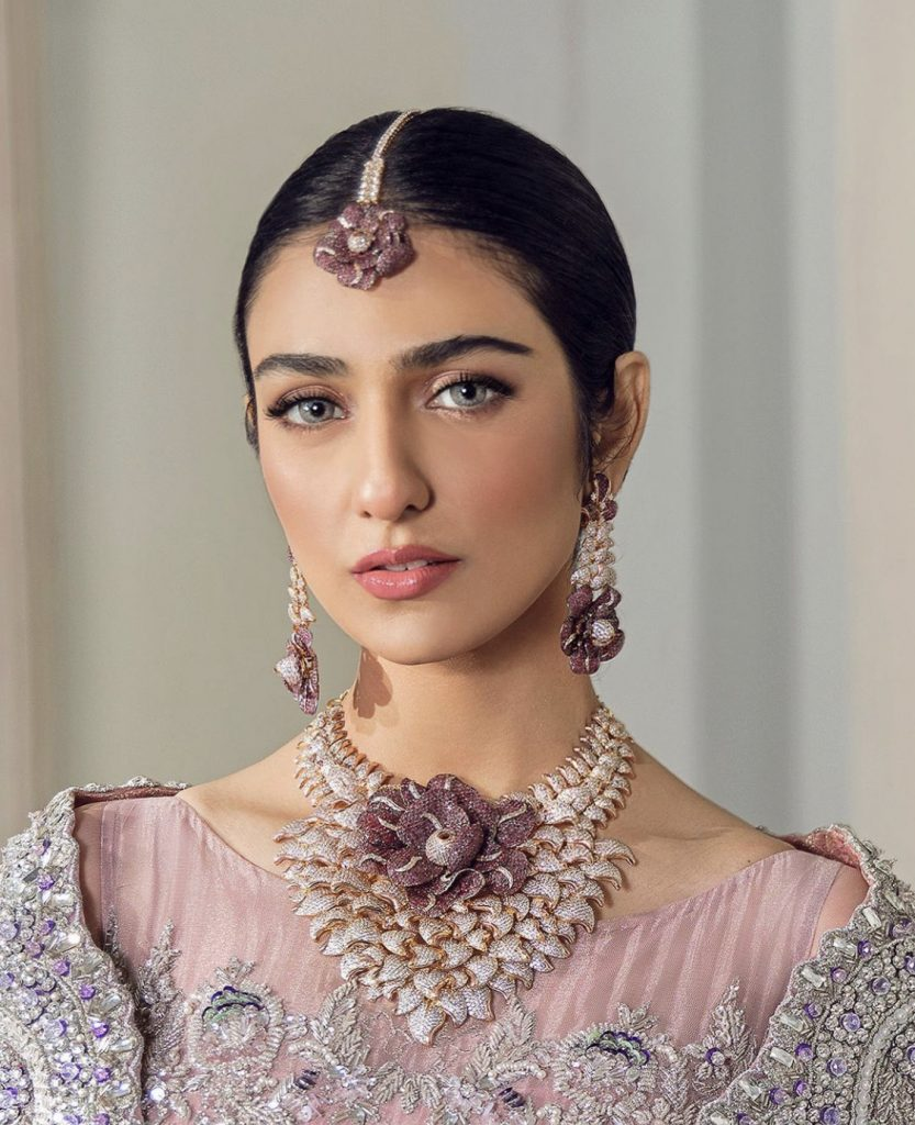 Sarah Khan's Latest Photoshoot For Jewellery Brand