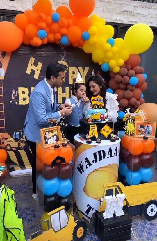 Shafaat Ali Celebrated His Son's Birthday