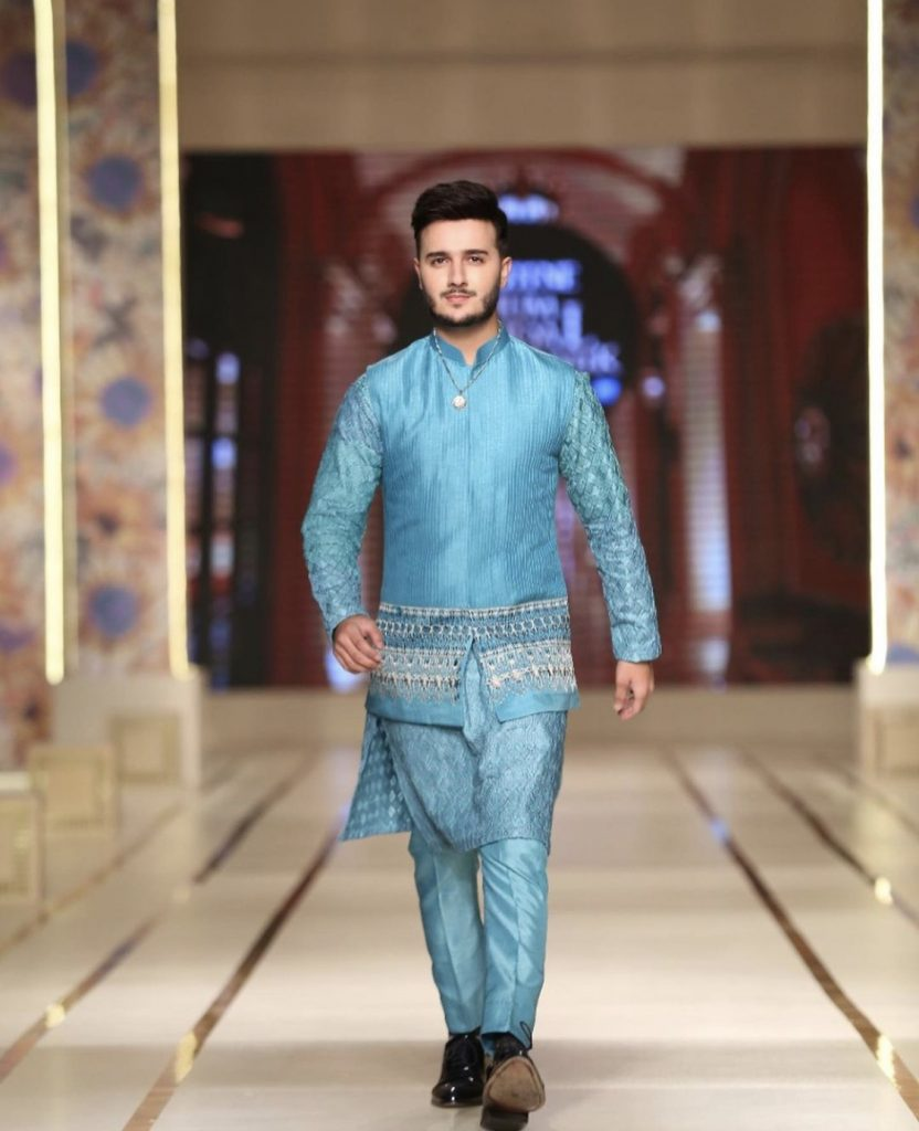 Muneeb Butt And Shahveer Jafri Walked For Jeremyn Street At BCW day3