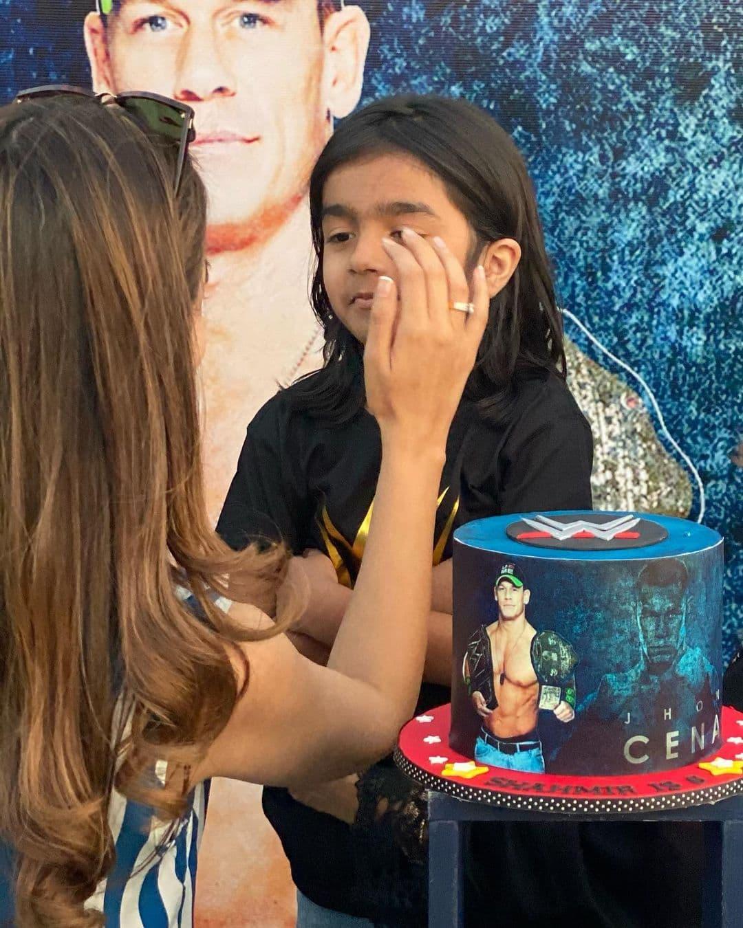 Shahzad Sheikh Son Shahmir 6th Birthday Pictures