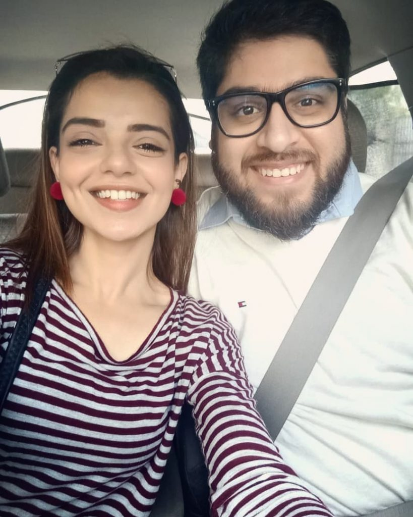 Srha Asghar With Her Husband- Latest Pictures