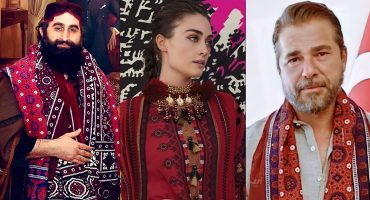 Most Loved Turkish Actors in Pakistani Outfits