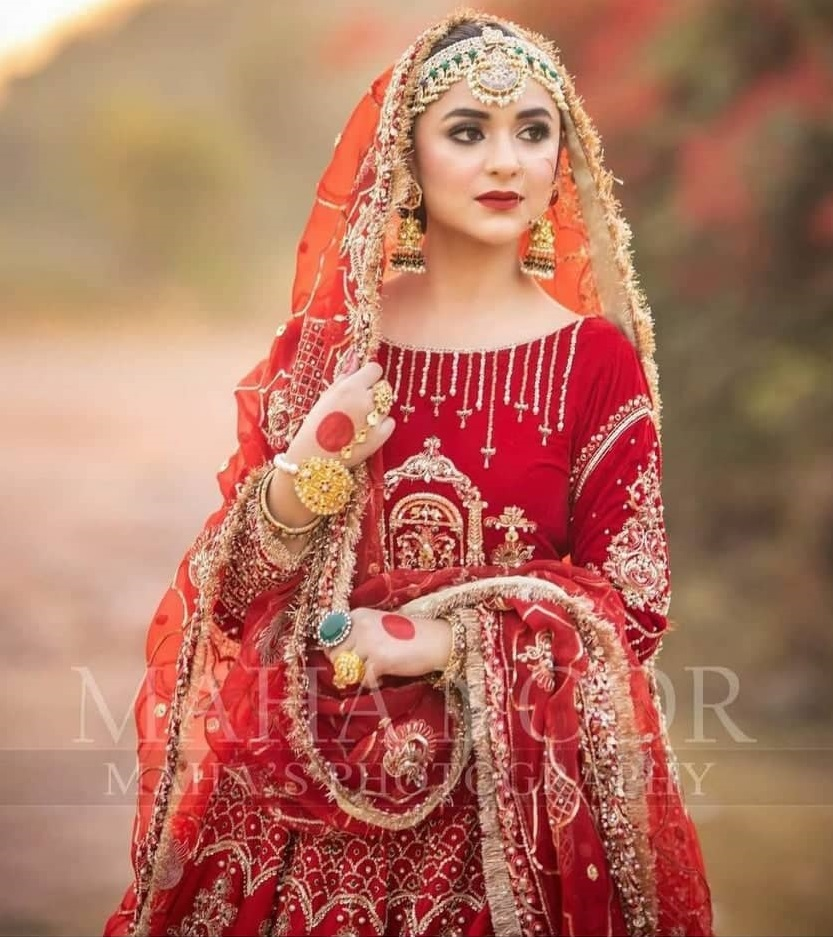 Beautiful Bridal Photoshoots of Pakistani Actresses