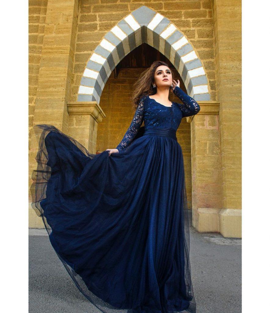 Yumna Zaidi Giving Princess Vibes In Her Latest Photoshoot