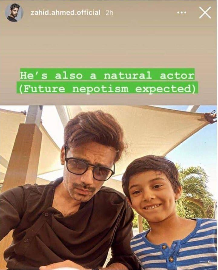 Zahid Ahmed Warns Fans Of Future Nepotism
