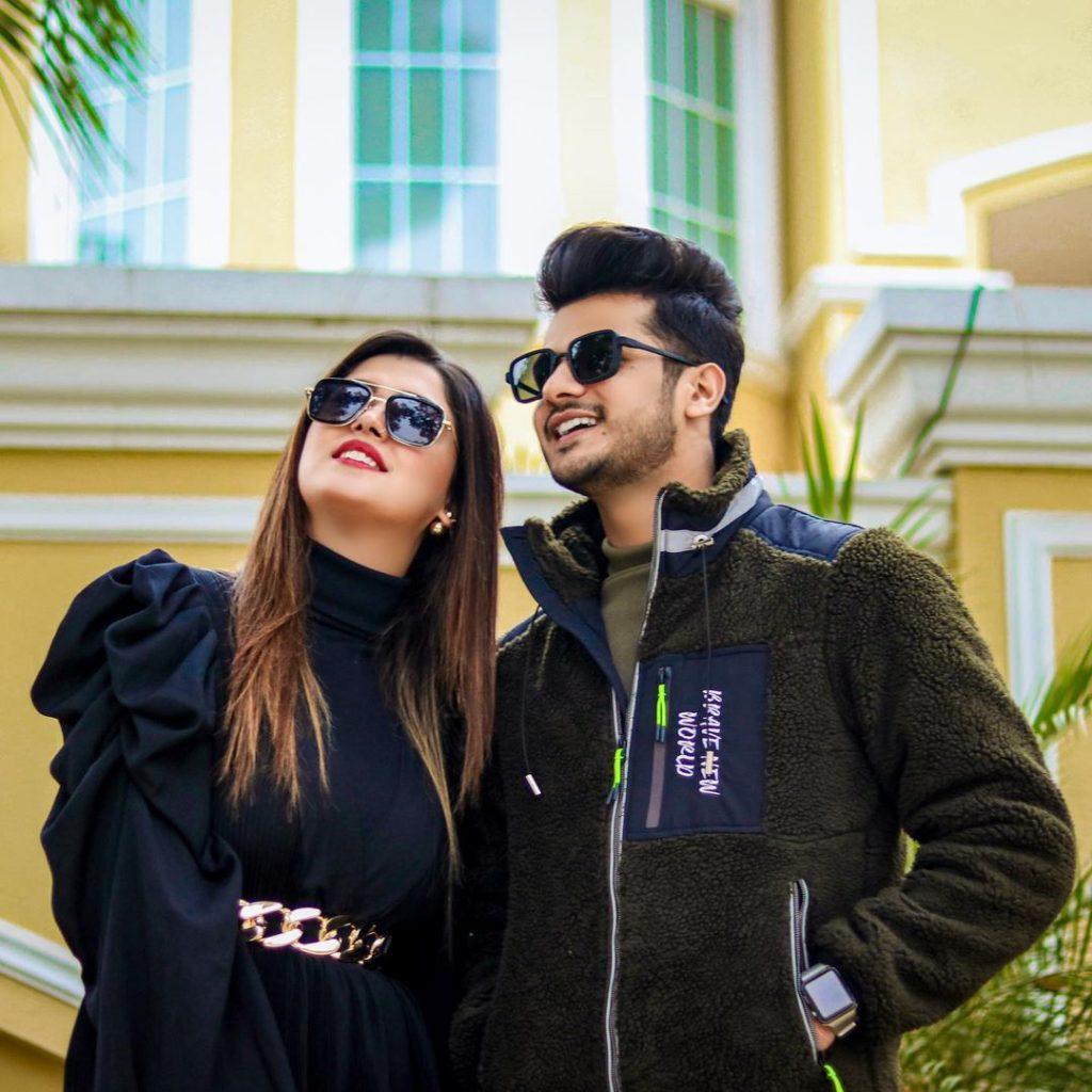 Couple Pictures Of Zulqarnain Sikandar And Kanwal Aftab