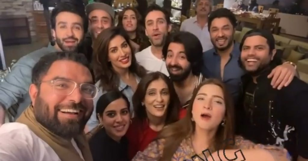 Actors Pictures From Wajahat Rauf's Party