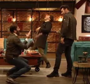 Aijaz Aslam and Faysal Qureshi Hilarious Dance Performance
