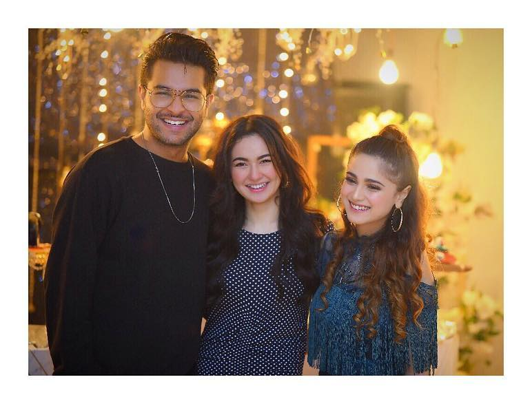 Cutest Pictures of Hania Aamir and Aima Baig