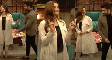 Aiman Khan Muneeb Butt Dance In Bol Nights With Ahsan Khan