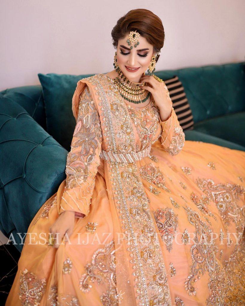 Gul-o-Gulzar Famed Aliya Ali's Bridal shoot