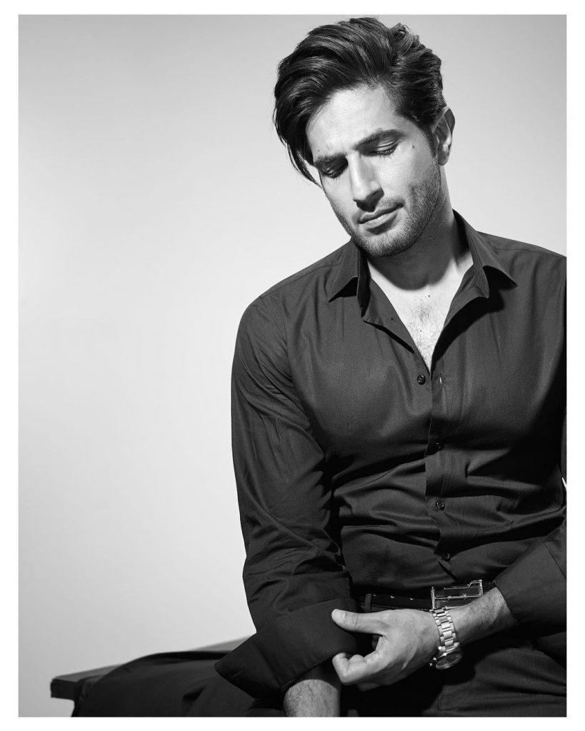 Greyscale Photos of the Hottest Bilal Ashraf