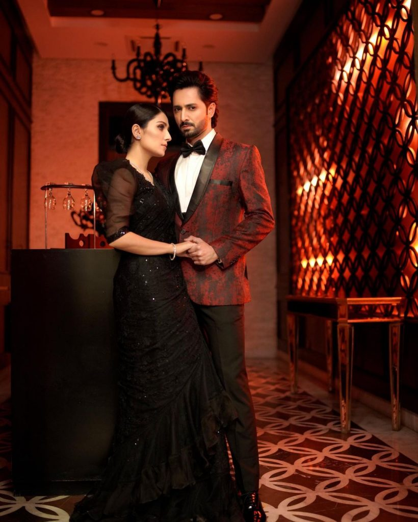 Ayeza And Danish Looking Magnificent In Their Latest Shoot