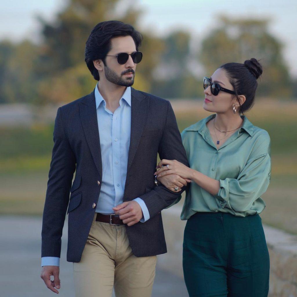 Latest Couple Shoot Of The Ultimate Duo Ayeza Khan And Danish Taimoor