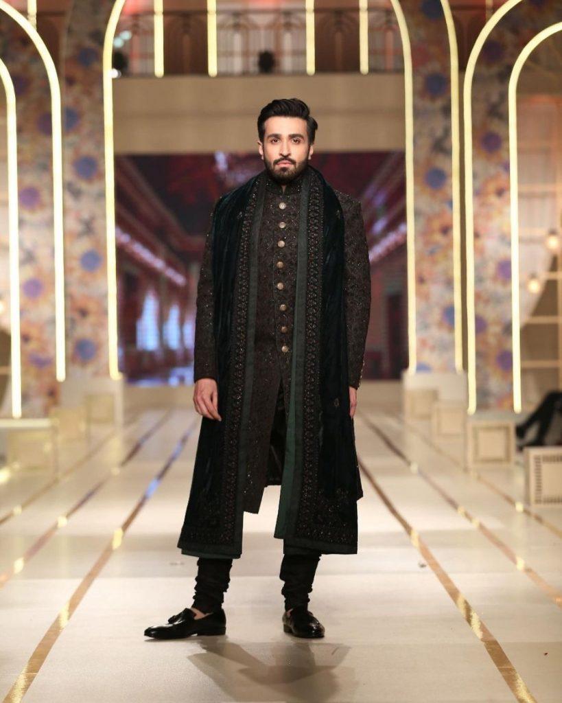 Azfar Rehman Featured in Darya Men's Wear Collection