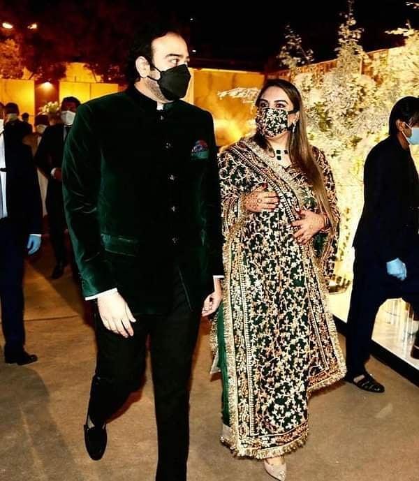 Haris Ahmed Spilled Details On Designing Bakhtawar Bhutto's Valima Dress