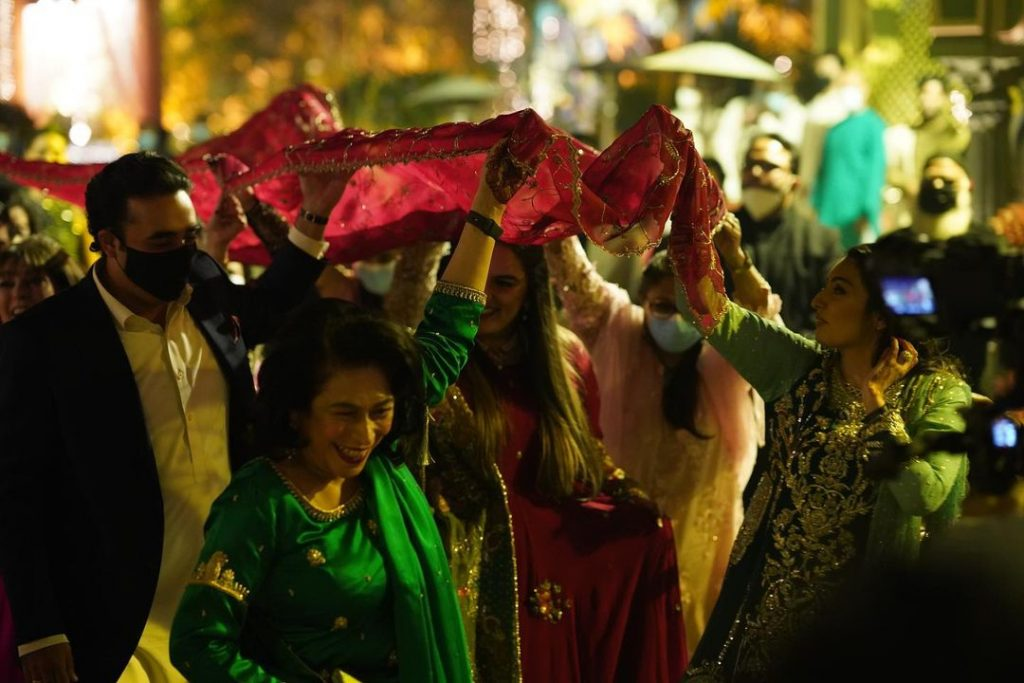Memorable Video Clip From Bakhtawar's Wedding