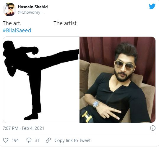 Public Reaction On Bilal Saeed's Latest Viral Video