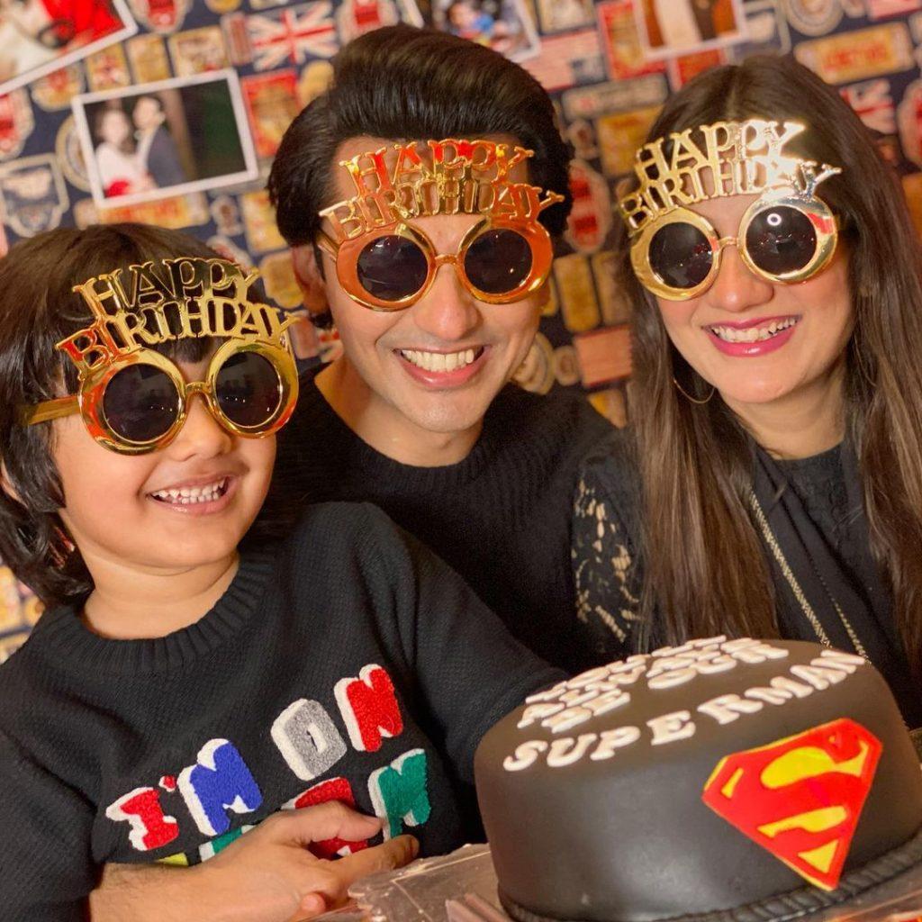 Uroosa Qureshi Surprised Husband On His Birthday