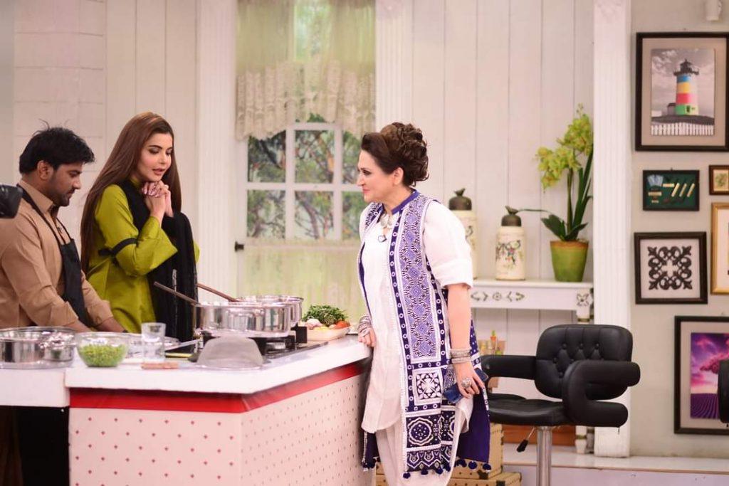 Bushra Ansari and Asma Abbas Pictures From GMP