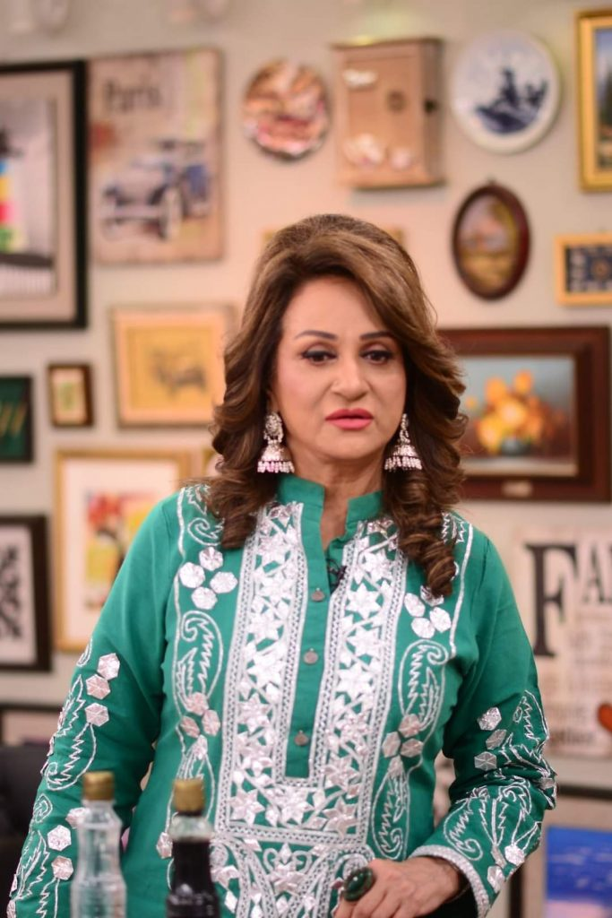 Bushra Ansari Talks About An Inappropriate Joke By Junior