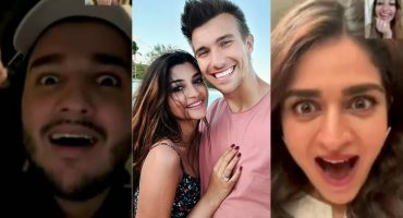 Celebrities Reaction To Zoya Nasir's Engagement With Christian Betzmann