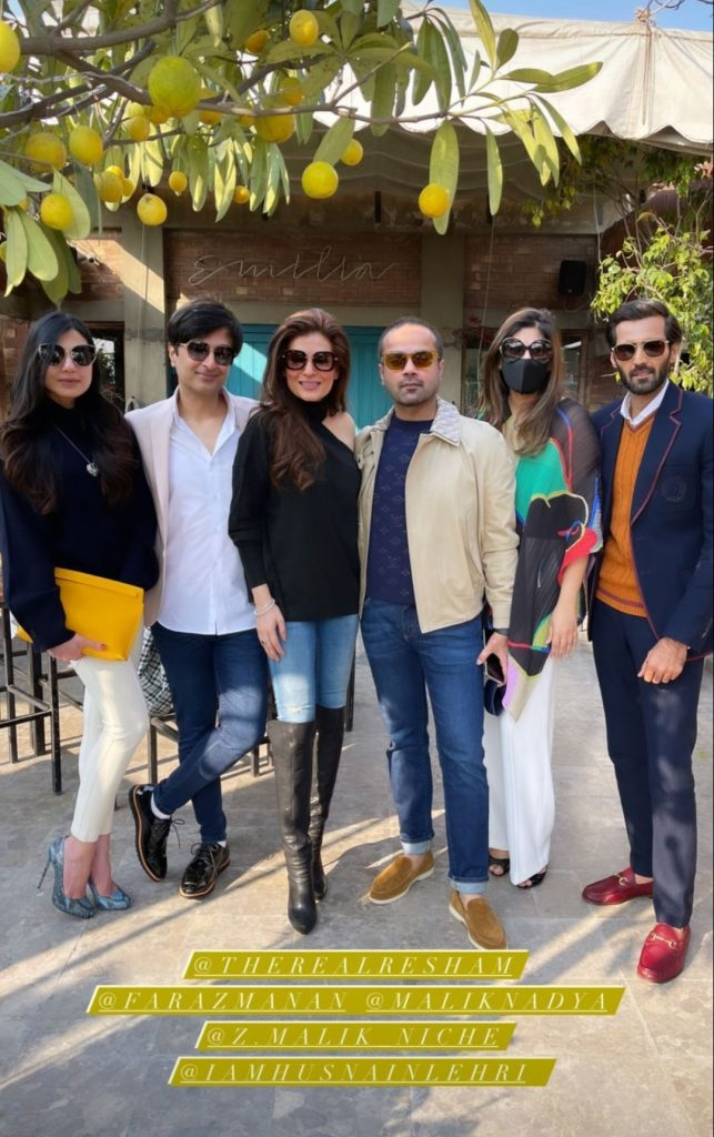 Celebrities Spotted At Faraz Manan's Birthday Brunch