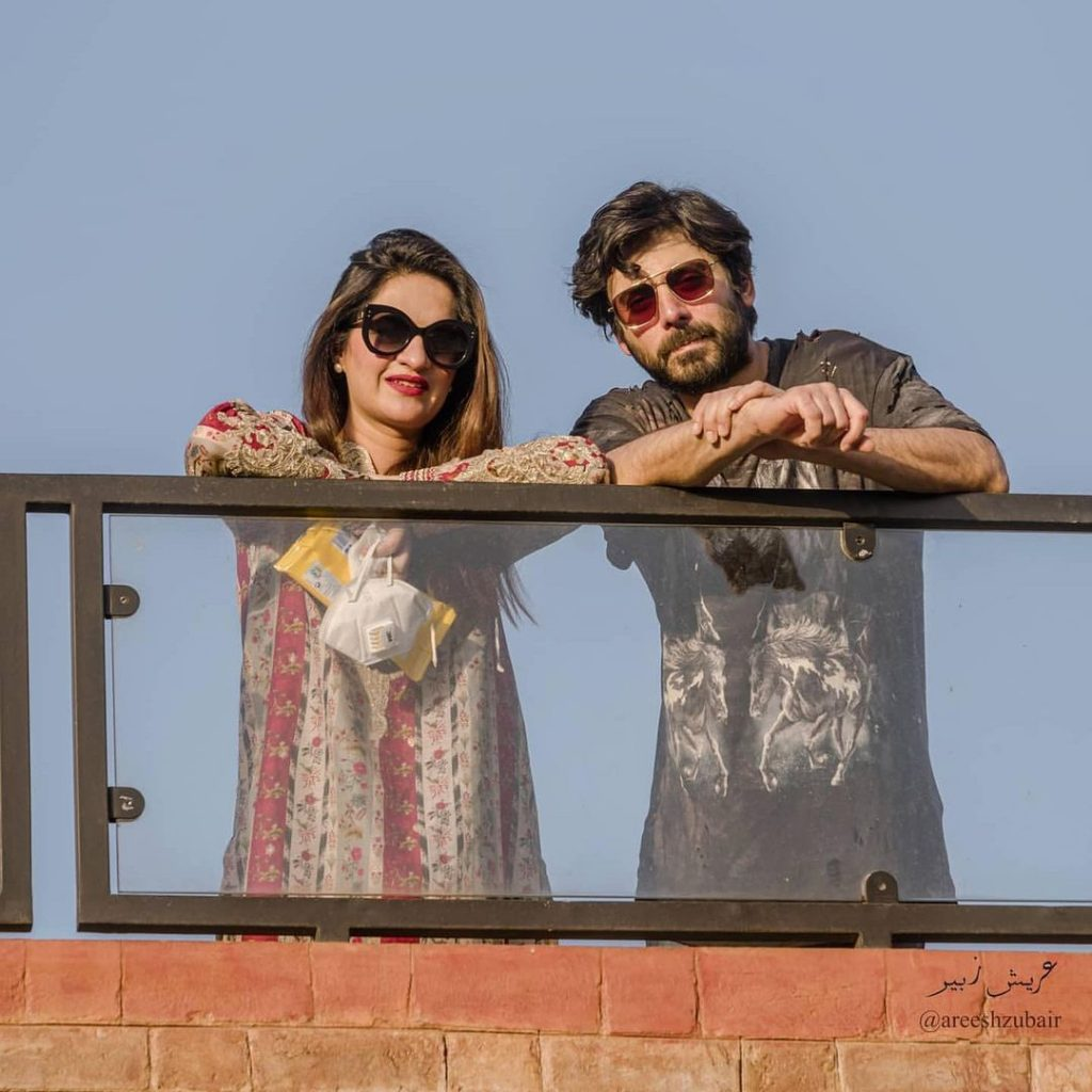 Latest Photos of Fawad Khan With Family and Friends