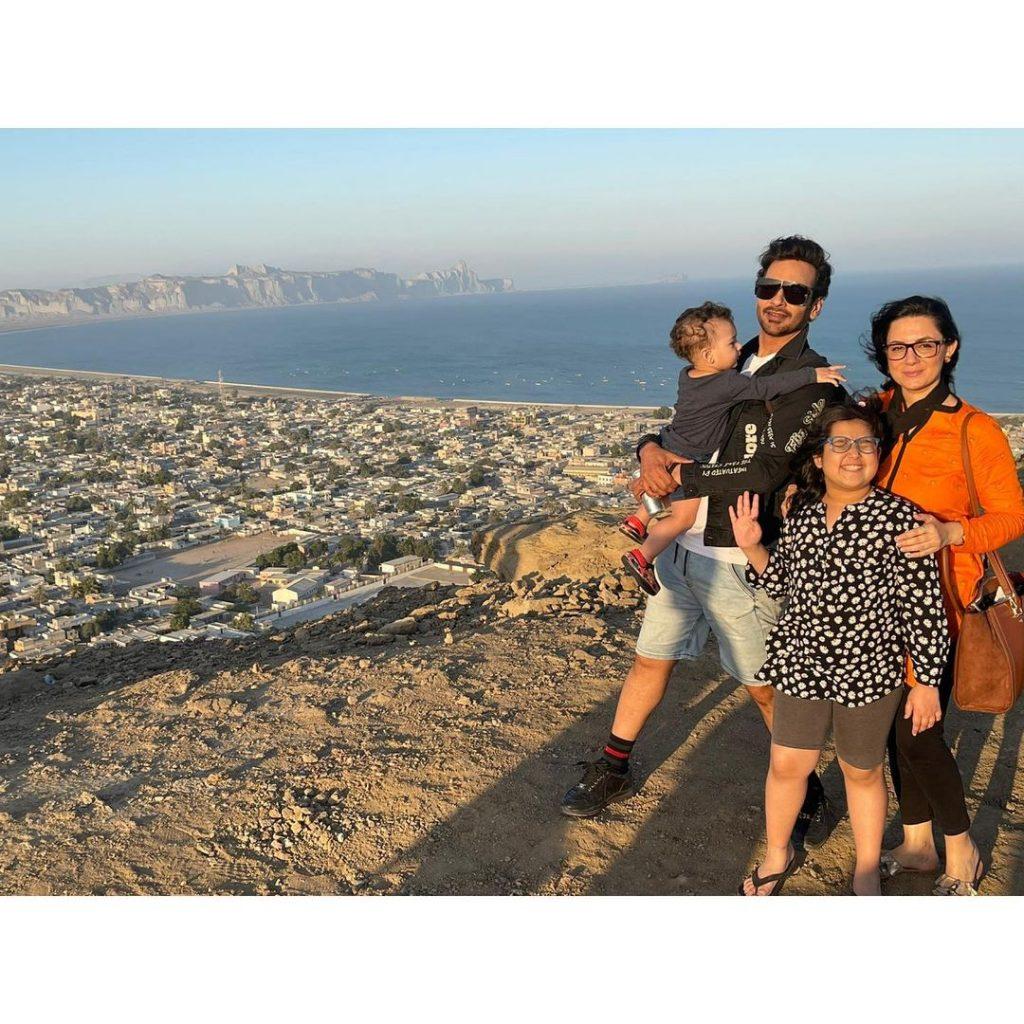Faysal Quraishi's Family Visits Gwadar City