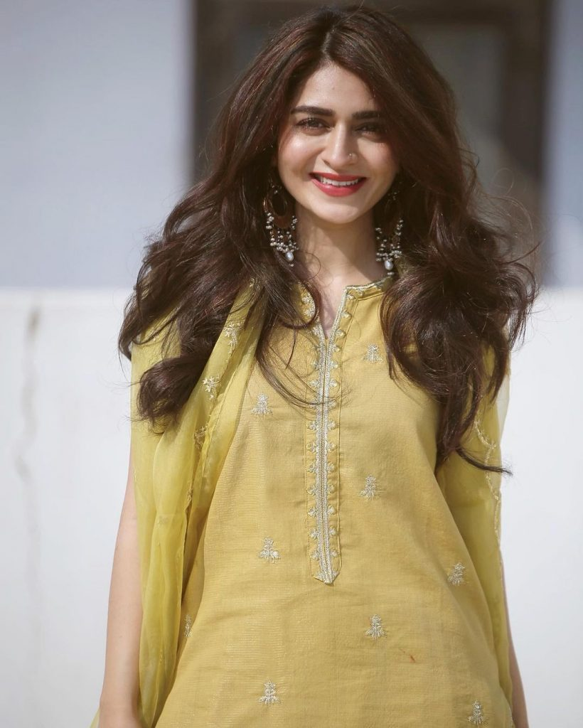 New Hair Look Of The Gorgeous Hajra Yamin