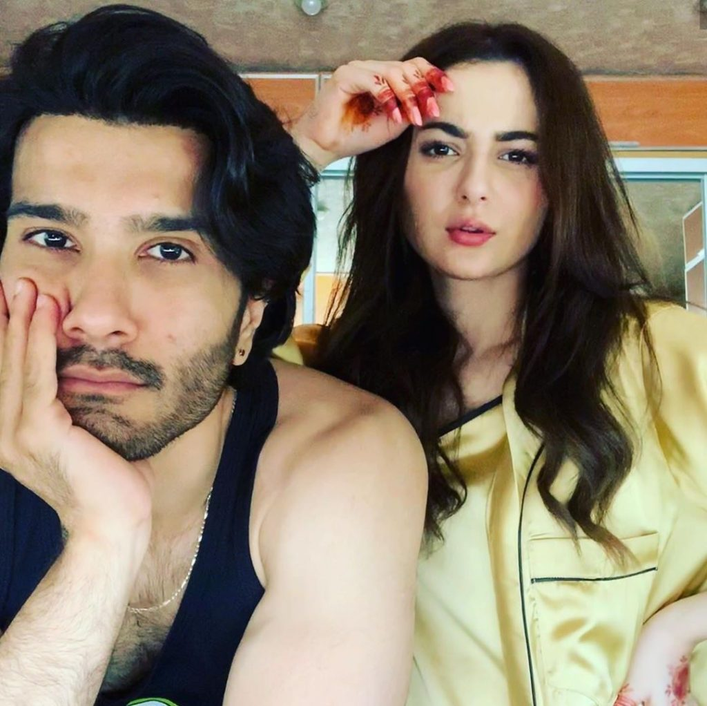 Throwback Video Of Hania Amir And Feroze Khan Having Some Fun Together