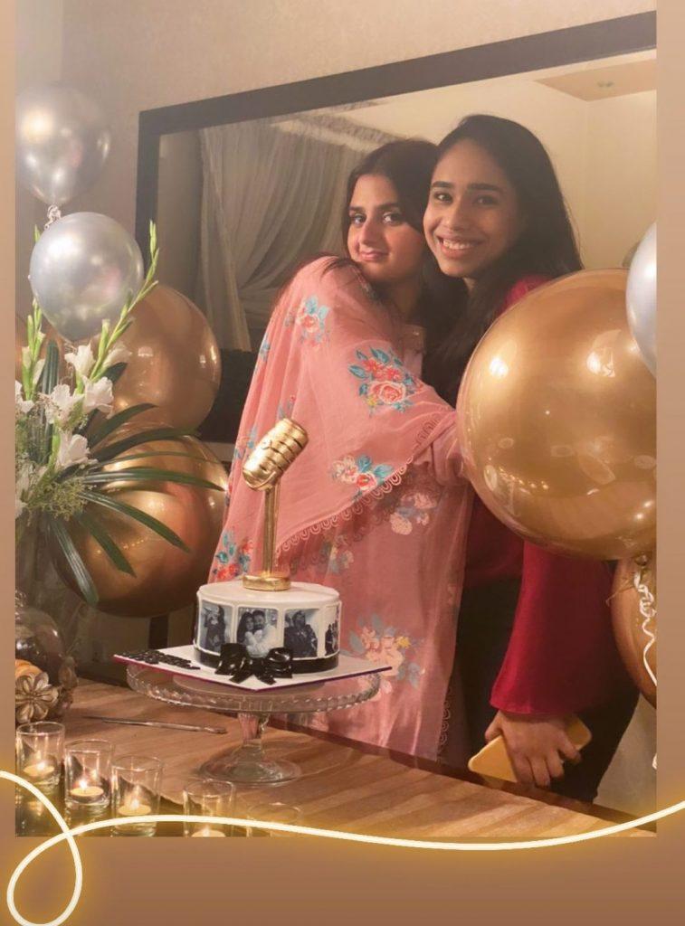 Hira Mani Birthday Celebration With Friends