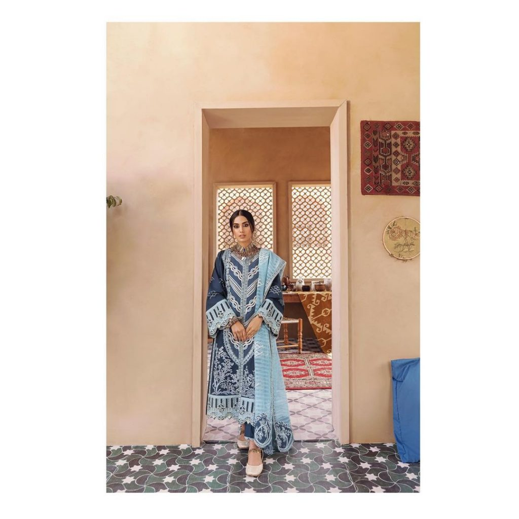 Iqra Aziz Recent Shoot For Qalamkar Official