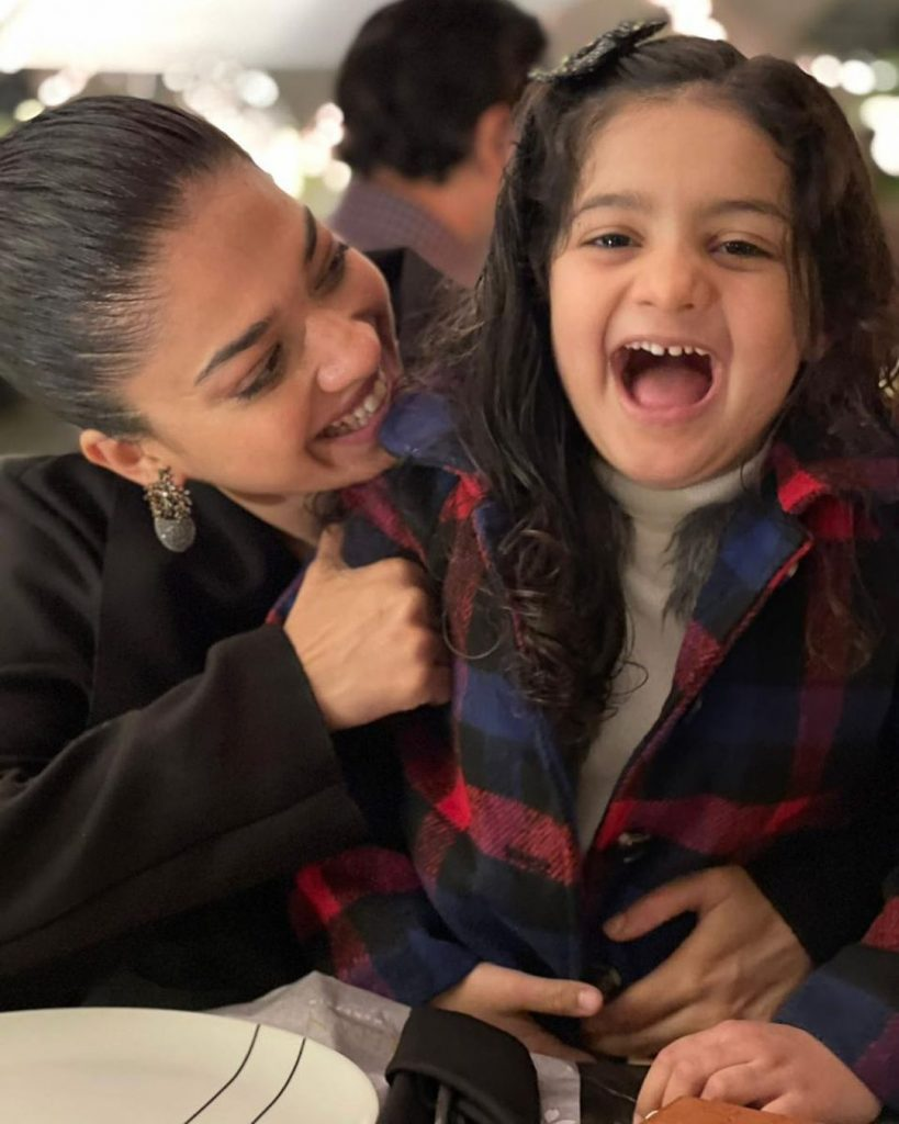Sanam Jung's Adorable Pictures With Her Daughter